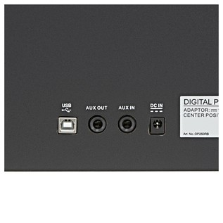 DP-10plus Digital Piano by Gear4music + Piano Stool Pack, Rosewood
