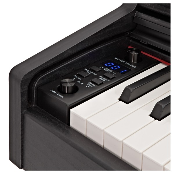 DP-10plus Digital Piano by Gear4music, Matte Black
