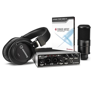 Steinberg UR22 MKII Recording Pack with Cubase Artist - Bundle