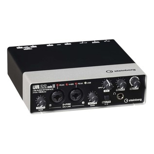 Steinberg UR22 MKII USB Audio Interface - Angled