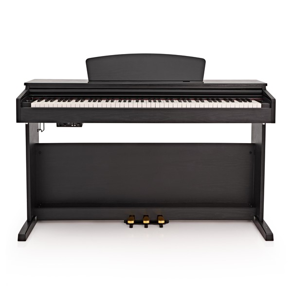 DP-10X Digital Piano by Gear4music + Piano Stool Pack, Matte Black