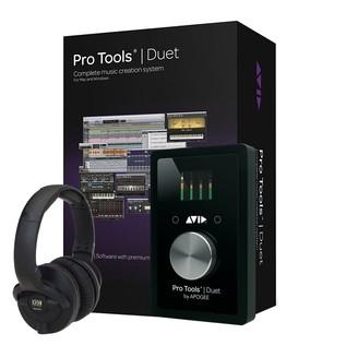 Avid Pro Tools Duet with KRK KNS 6400 Headphones - Bundle