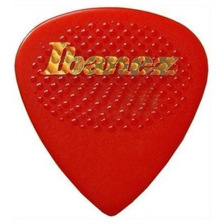 Ibanez PA16XR-RD Plectrums Rubber Grip, 1.2mm, Red, Bag Of 50 - Front
