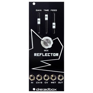 Dreadbox White Lines Euro Module - Reflector Front