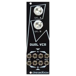 Dreadbox White Lines Euro Module - Dual VCA Front