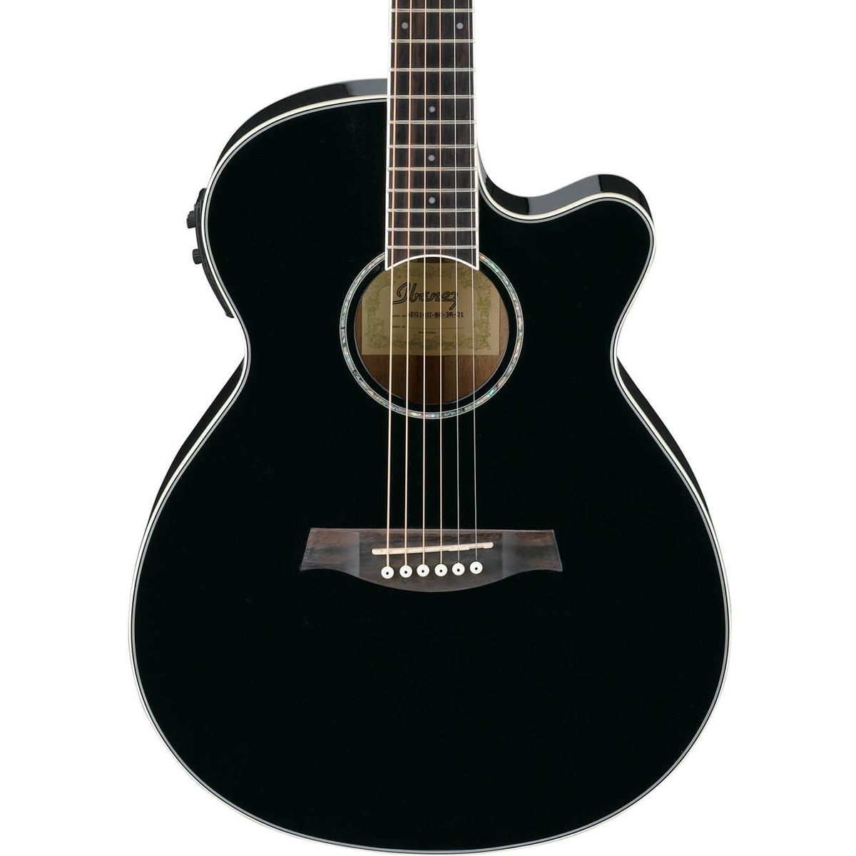 Ibanez Electro Acoustic Guitars : ibanez aeg10ii electro acoustic guitar black b stock at gear4music ~ Russianpoet.info Haus und Dekorationen