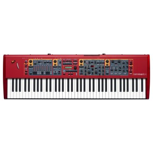 Nord Stage 2 EX HP76 Stage Piano with Lightweight Hammer Action - Top