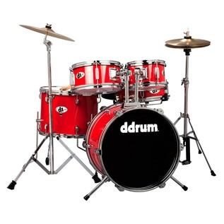 Ddrum D1 Jr - 5pc - Candy Red- Complete Kit