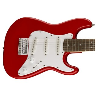 Squier By Fender 3/4 Size Electric Guitar, Red