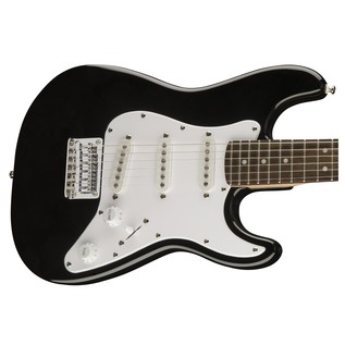 Squier By Fender 3/4 Size Electric Guitar, Black