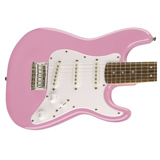 Squier By Fender 3/4 Size Electric Guitar, Pink