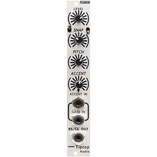 TipTop Audio RS808 Analog Rimshot and Claves Drum Module 1