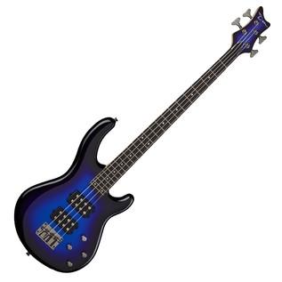 Dean Edge 3 Bass Guitar, Electric Purple Metallic Burst 1