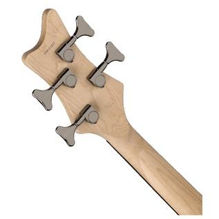 Dean Edge 3 Bass Guitar, Electric Purple Metallic Burst 5