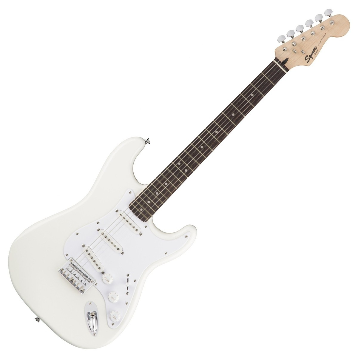 squier by fender bullet stratocaster ht arctic white at gear4music. Black Bedroom Furniture Sets. Home Design Ideas