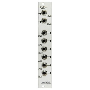 Make Noise FXDf 6 Band Fixed Filter - Front