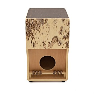 WHD Gypsy Cajon, Zebrano Finish