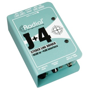 Radial J+4 Balanced Signal Driver
