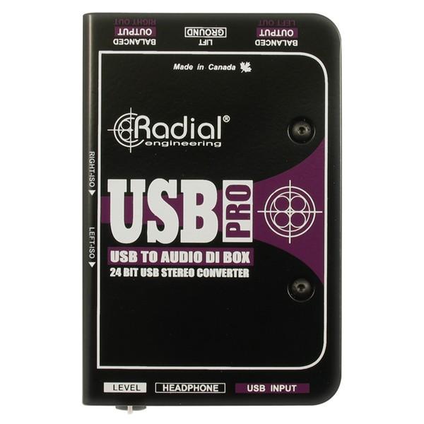 Radial USB Pro Stereo USB Laptop DI Line Isolator