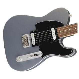 Fender Standard Telecaster HH, Pau Ferro, Ghost Silver body