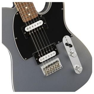 Fender Standard Telecaster HH, Pau Ferro, Ghost Silver Controls
