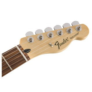 Fender Standard Telecaster HH, Pau Ferro, Ghost Silver Headstock