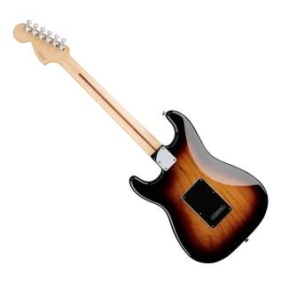 Fender Deluxe Stratocaster Electric Guitar, PF, 2-Color Sunburst rear