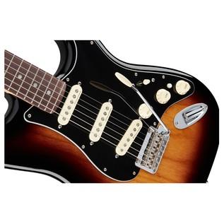 Fender Deluxe Stratocaster Electric Guitar, PF, 2-Color Sunburst slant