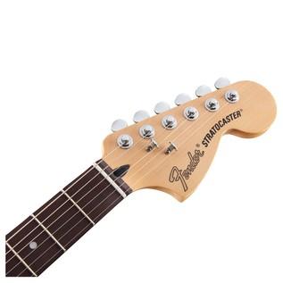 Fender Deluxe Stratocaster Electric Guitar, PF, 2-Color Sunburst headstock
