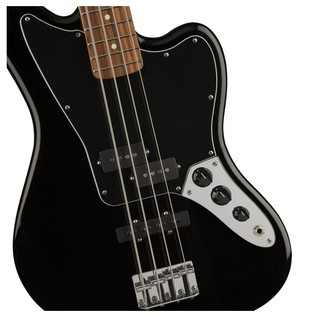 Fender Standard Jaguar Bass, Pau Ferro, Black Controls