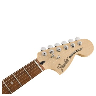 Fender Deluxe Stratocaster Electric Guitar, Pau Ferro, Black headstock