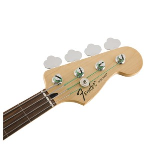 Fender Standard Jazz Bass FretLess Bass Guitar, PW, Brown Sunburst Headstock