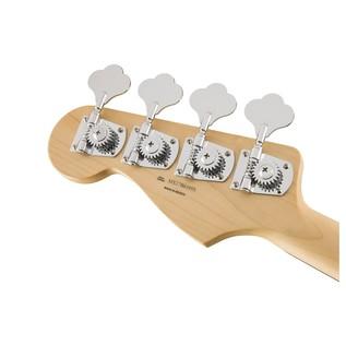 Fender Standard Jazz Bass FretLess Bass Guitar, PW, Brown Sunburst Headstock Back