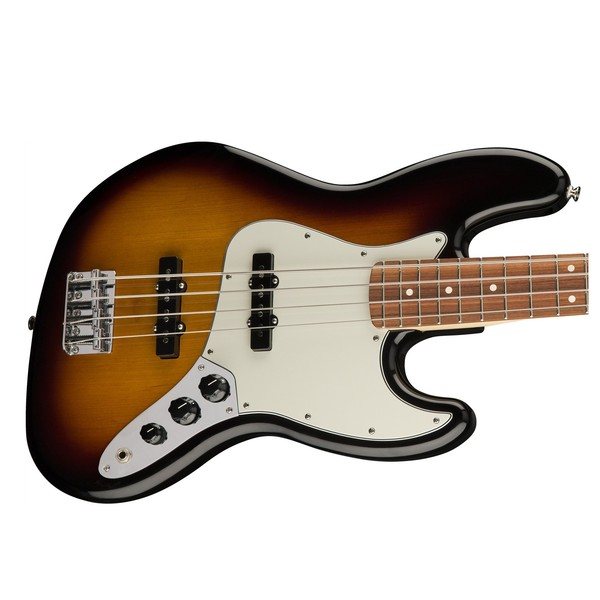 Fender Standard Jazz Bass, Pau Ferro, Brown Sunburst Body