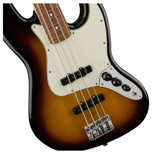 Fender Standard Jazz Bass, Pau Ferro, Brown Sunburst Controls