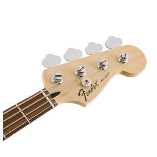 Fender Standard Jazz Bass, Pau Ferro, Lake Placid Blue Headstock