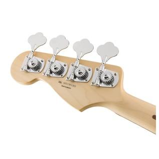 Fender Standard Jazz Bass, Pau Ferro, Lake Placid Blue Headstock Back