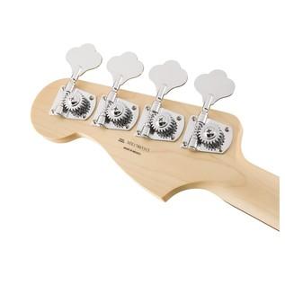 Fender Standard Precision Bass, Pau Ferro, Arctic White Headstock Back
