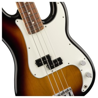 Fender Standard Precision Bass, Pau Ferro, Brown Sunburst Controls