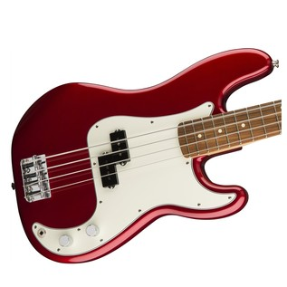 Fender Standard Precision Bass, Pau Ferro, Candy Apple Red Body