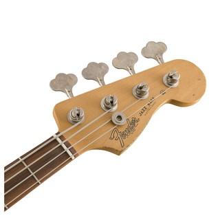Fender Road Worn 60s Jazz Bass, Pau Ferro, Fiesta Red Headstock