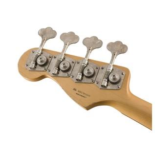 Fender Road Worn 60s Jazz Bass, Pau Ferro, Fiesta Red Headstock Back