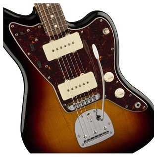 Fender Classic Player Jazzmaster Special, Pau Ferro, Sunburst close up detail