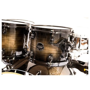 Mapex Armory Rock Fusion 6pc Shell Pack, Black Dawn