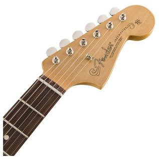 Fender Classic Player Jazzmaster Special, Pau Ferro, Black headstock front