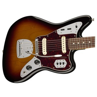 Fender Classic Player Jaguar Special, Pau Ferro, Sunburst body detail