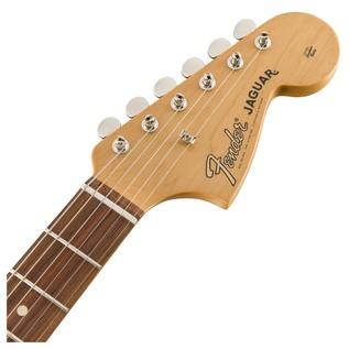 Fender Classic Player Jaguar Special HH, Pau Ferro, 3 Tone Sunburst headstock front