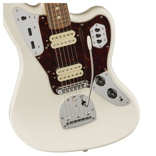 Fender Classic Player Jaguar Special HH, Pau Ferro, Olympic White body detail