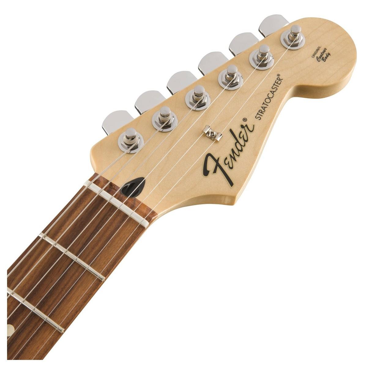 fender standard stratocaster pau ferro arctic white at gear4music. Black Bedroom Furniture Sets. Home Design Ideas