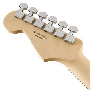 Fender Standard Stratocaster, Pau Ferro, Arctic White headstock back